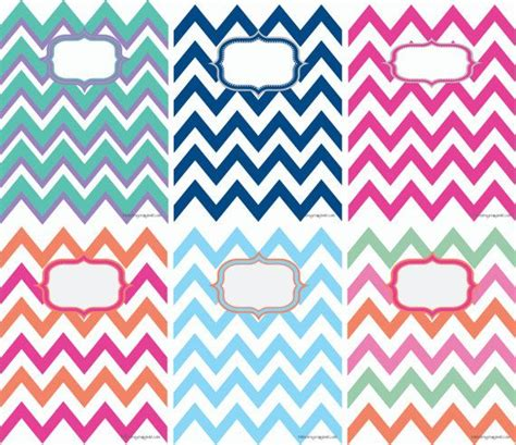 Printable Chevron Binder Covers | printable chevron binder covers chevron paper and