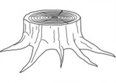 Stump Outline by Activities Clip Science