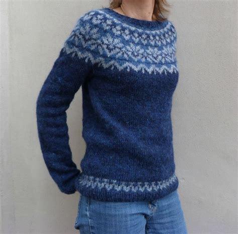 icelandic pattern jumper icelandic lopi sweater