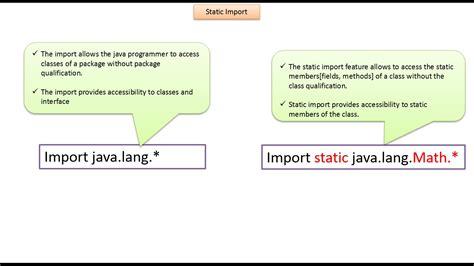 pattern java static java ee java tutorial java static import
