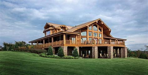 energy efficient log and timber homes
