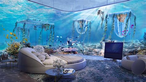 How To Decorate A Master Bedroom Floating Venice World S First Underwater Luxury Vessel