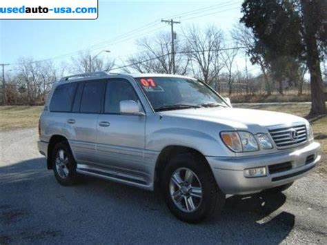 for sale 2007 passenger car lexus lx 470 470 4wd 4dr awd