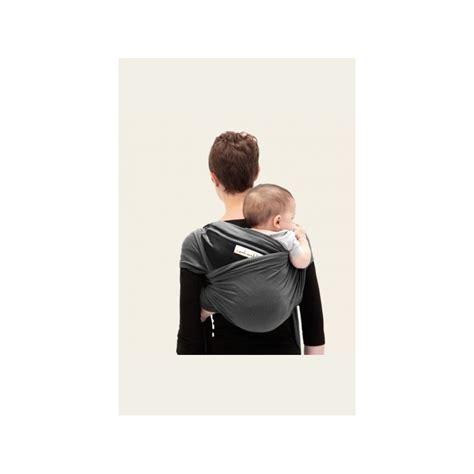 je porte mon bebe echarpe je porte mon b 233 b 233 jpmbb anthracite noir naturiou