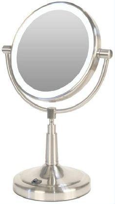 Cordless Vanity Mirror by Vanity Mirror Lighted Makeup 10x Mag Generation Led