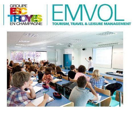 Mba Tourisme Esc Troyes Vs Inseec Lyon by Groupe Esc Troyes Emvol