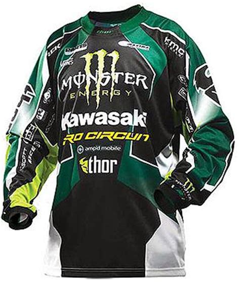 kawasaki motocross jersey thor motocross gear is well worn tried and trusted mx
