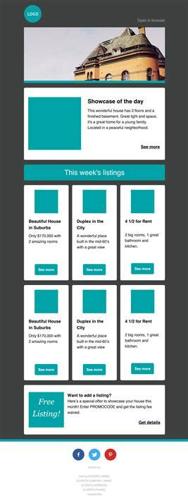 Best Newsletter Templates Free Marketo Email Templates
