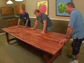 make dining room table time