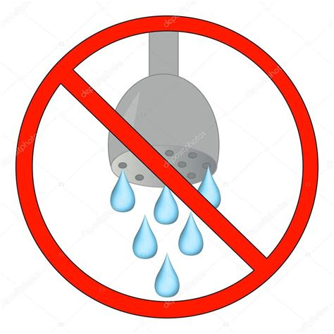 usar imagenes vectoriales no ducharse o usar agua permitida archivo im 225 genes