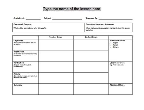 lesson plan template spanish free spanish lesson plans for high school emergency