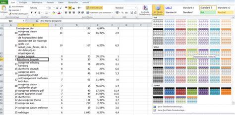 excel tabelle sortieren excel tabelle formatieren um daten effektiv zu sortieren
