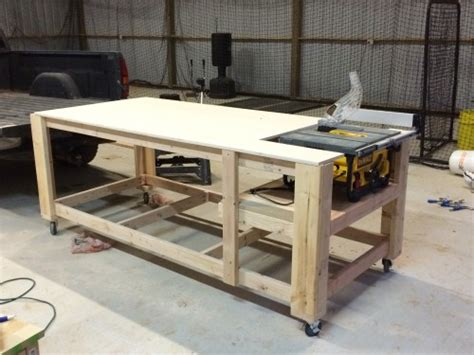 how to make a table saw bench 3 of 3 shanty 2 chic