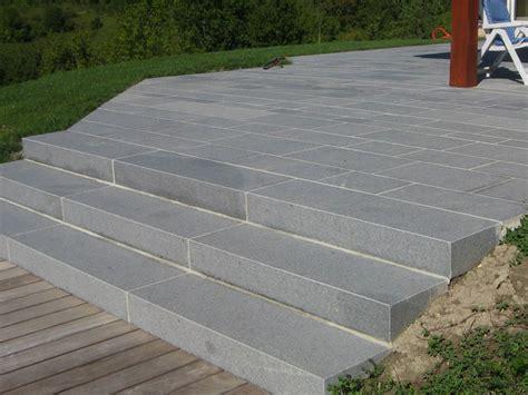 terrasse granit dallage ext 233 rieur agencement pierres