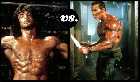 rambo film hero blogs rambo riddick reeves which action star could