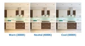 kitchen light temperature color temperature