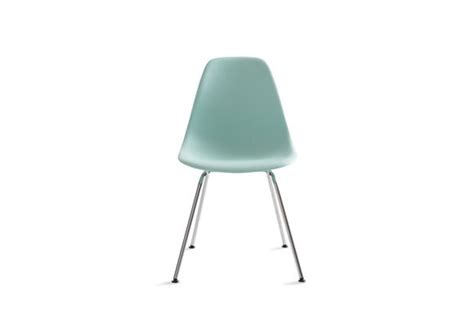 Eames Molded Plastic Chair Replica by Reproduction Eames Molded Plastic 4 Leg Side Chair Dsx