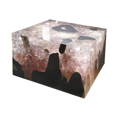 Resin Coffee Table 0042 Teak Cracked Resin Coffee Table 171 Andrianna Shamaris Furniture Pinterest Coffee