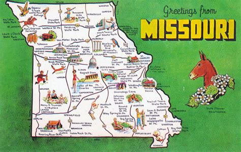 usa map tourist attractions maps update 1500950 missouri tourist attractions map