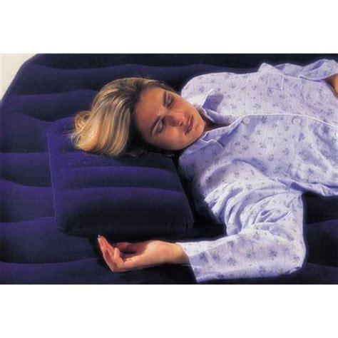 Bantal Angin Bestway Travel Pillow air pillow intex velvet comfort waterproof original