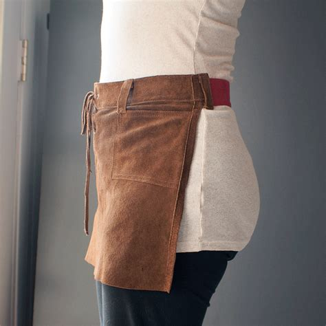 pattern for leather apron isn t that sew upcyled leather apron