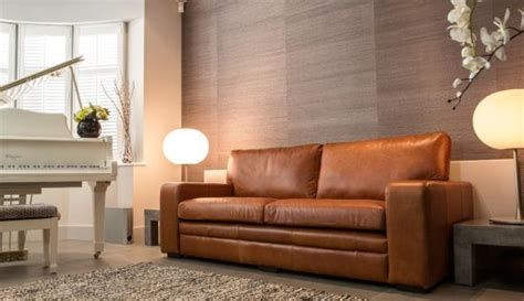 Light Colored Leather Sofas Light Colored Leather Sofas A Bright Vibe In 2017 Trendy Living Space Leather Sofas