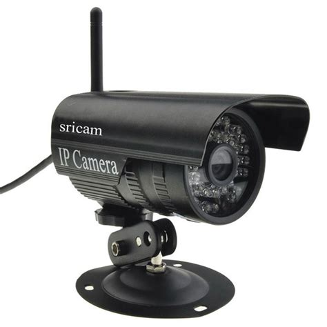 Cctv Wireles sricam outdoor wireless wifi security ir ip p2p