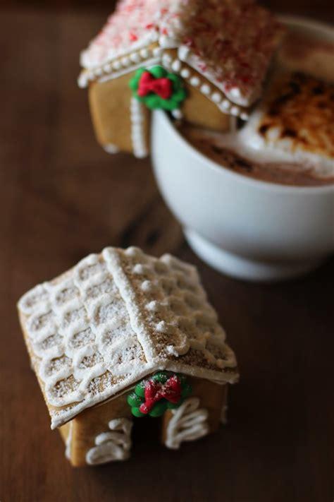 mini gingerbread house how to make mini gingerbread houses