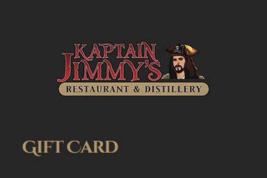 Distillery Gift Card - the distillery kaptain jimmy s