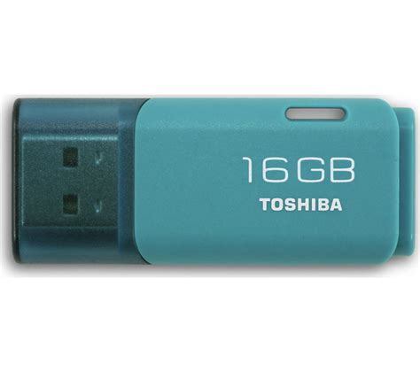 Memory Toshiba 16 Gb toshiba transmemory usb 2 0 memory stick 16 gb aqua deals pc world