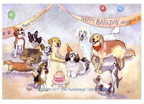Birthday Cards With Dogs Funny Dog Greeting Card Birthday Card Dog Birthday Card Dog