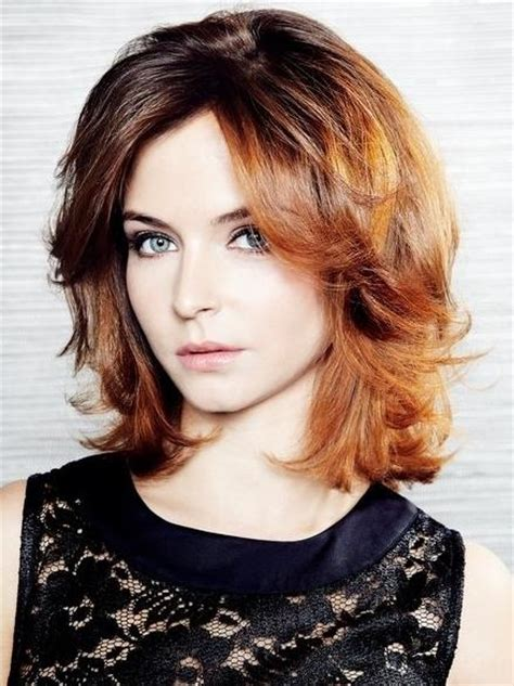 face framing layers medium wavy hair cute medium length layered face frame haircut new style