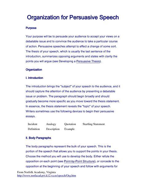Persuasive Essay Quotes by Persuasive Speech Quotes Quotesgram