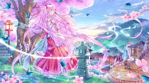 wallpaper anime sakura vocaloid full hd wallpaper and background 1920x1080 id