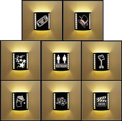 Home Interior Sconces by Lighting Sconce For Home Theater Decor