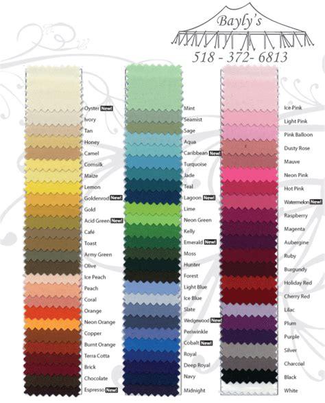 Floor Colors linen color chart solids baylysrental
