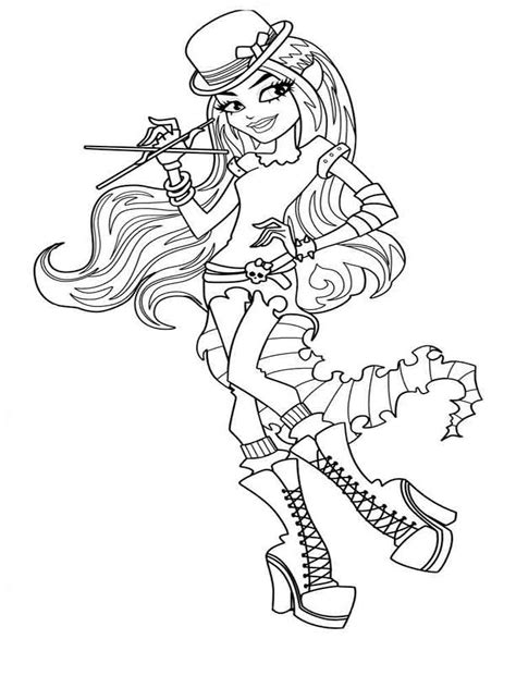little monster high coloring pages monster high coloring pages download and print monster