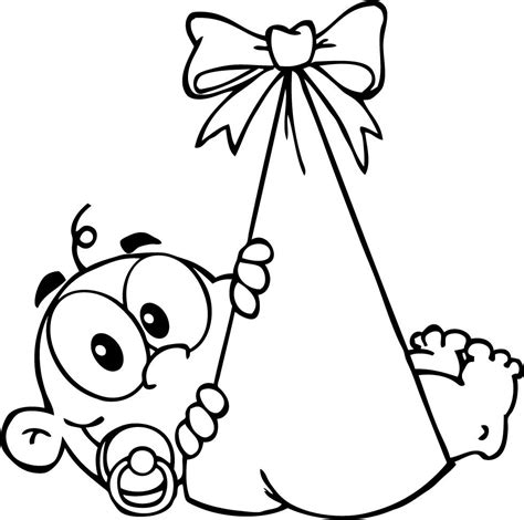 Newborn Baby Coloring Pages Welcome Clipart Best Newborn Baby Coloring Pages Free