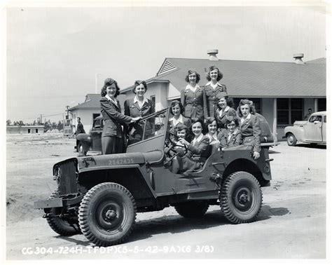 Jeep Fields 76 Jills In A Jeep Tyndall Field Florida Wwii Photo