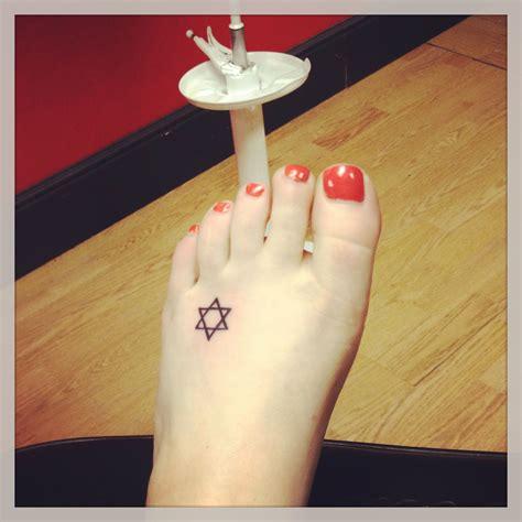 star of david tattoo of david i just got s