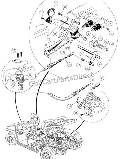 1998-1999 Club Car DS Gas or Electric - Club Car parts