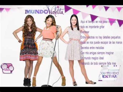 imagenes de amistad violetta quot c 243 digo amistad quot serie violetta youtube