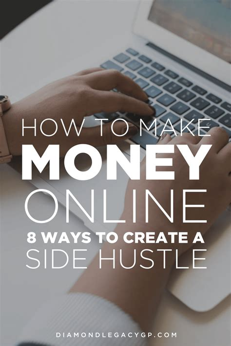 How To Make Side Money Online - how to make money online 8 ways to create a side hustle