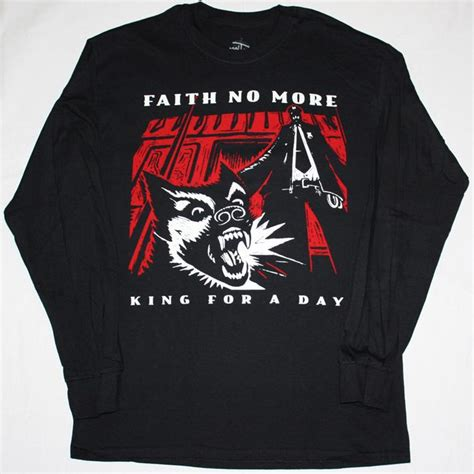 Aith No More King For A Day 95 Mike Patton Mr Bungle Size S faith no more king for a day 95 mike patton new black