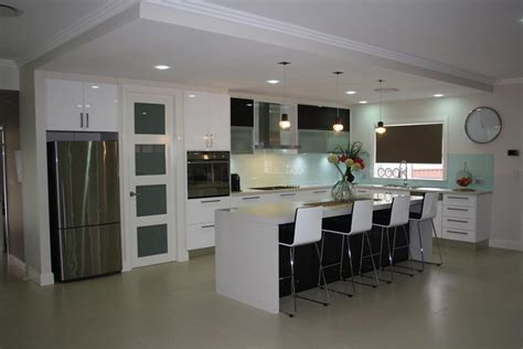 clean polyurethane island powney powney supreme kitchens pty ltd wetherill park