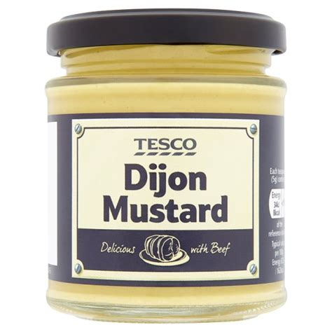 tesco dijon mustard 185g groceries tesco groceries