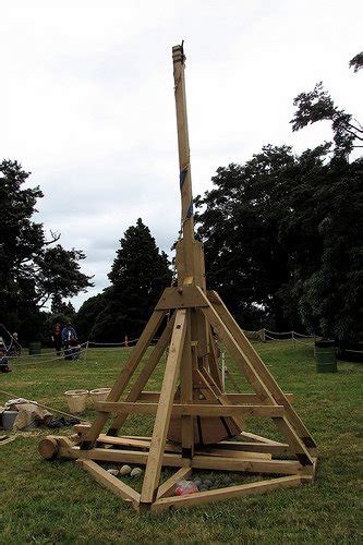 swinging counterweight trebuchet the machines 22ad ancient and medieval artillery
