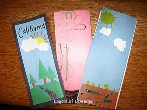 How To Make A Travel Brochure With Paper - creating brochures layers of learning