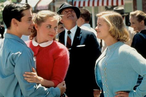 themes in the film pleasantville feature 1950s americana in film flush the fashion