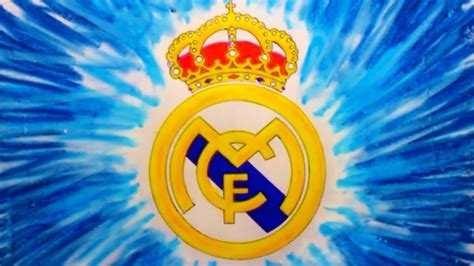 tutorial logo real madrid how to draw real madrid c f logo drawing step by step